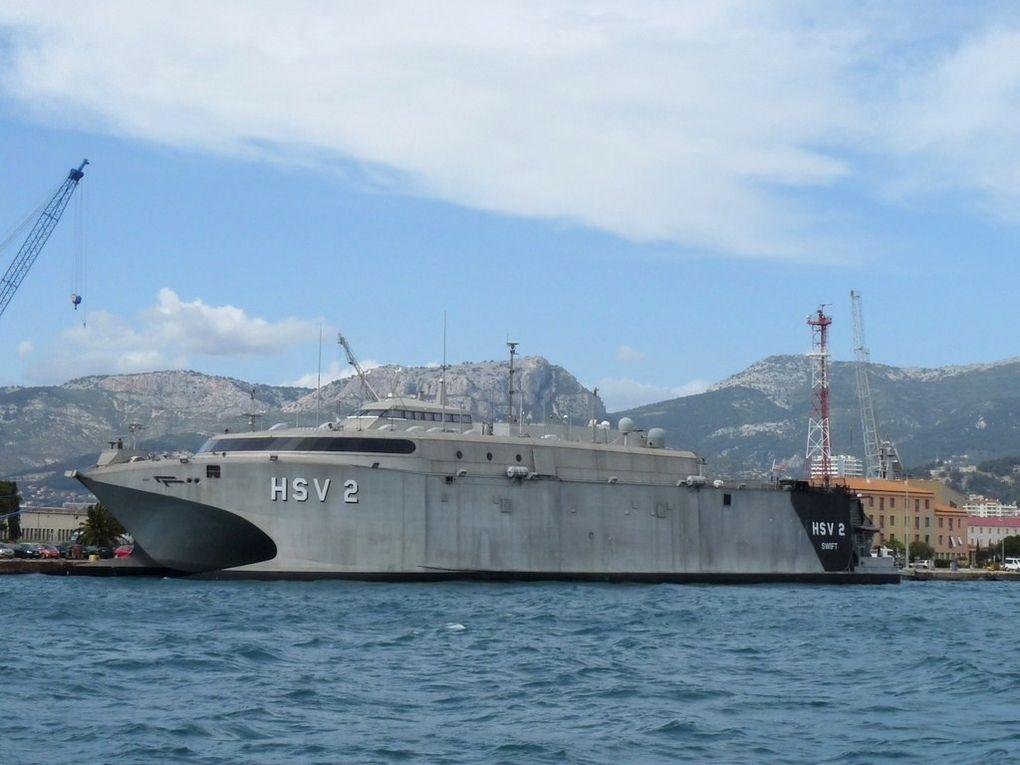 SWIFT  HSV2 , Navire de transport et d'intervention à grande vitesse de l'US Navy