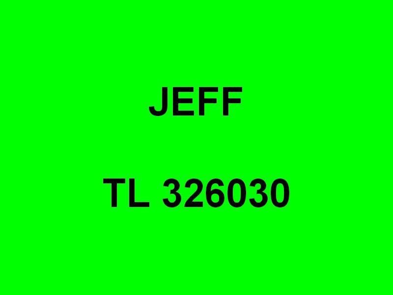JEFF  , TL326030