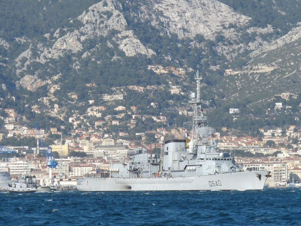GEORGES LEYGUES  D640  , Frégate anti-sous marine , Type F70