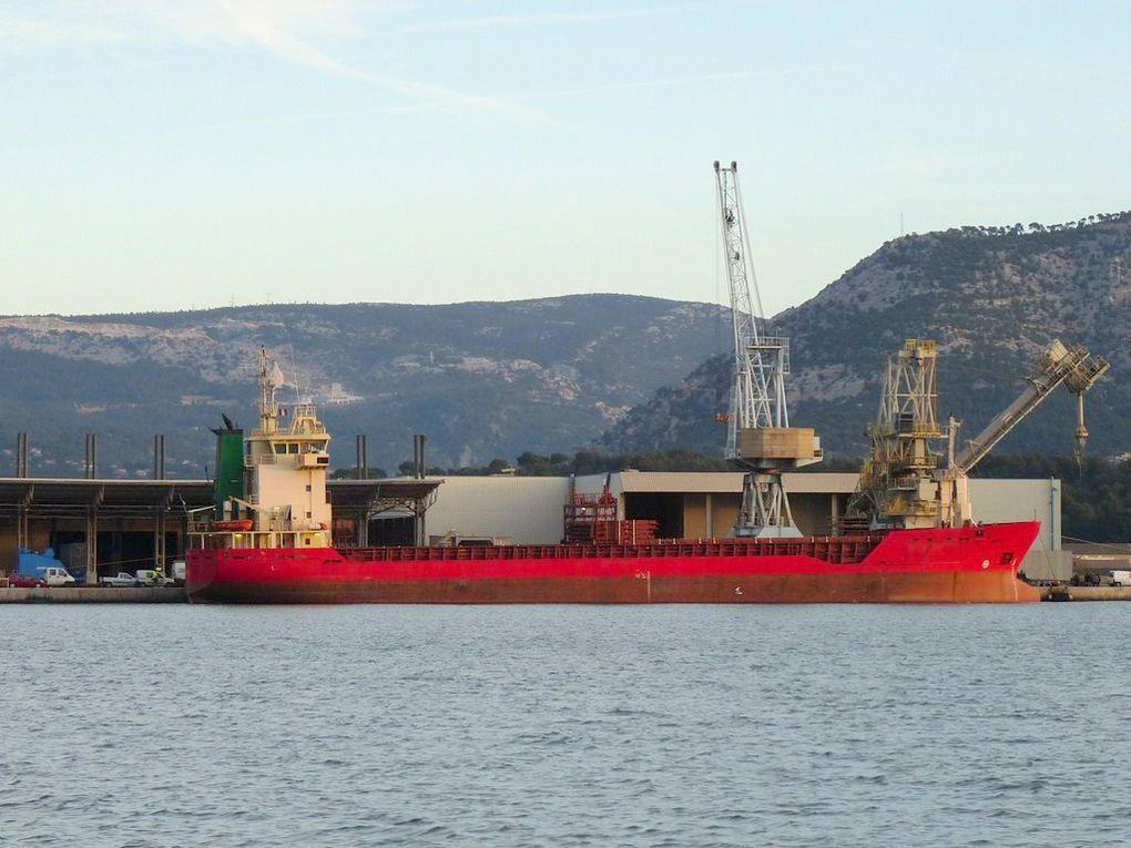 ANTONIA ,  au port de Toulon /Brégaillon le 21 novembre 2011