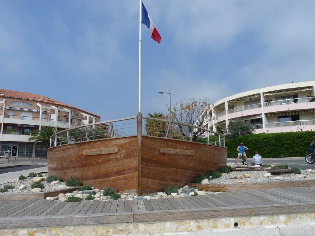 Sur le port de Carquéiranne