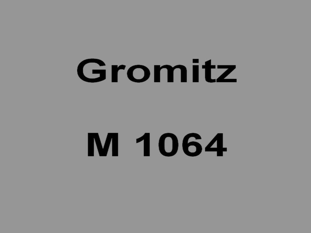 GROMITZ  M1064 , Dragueur de mines de la marine allemande