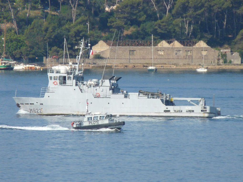 PLUTON  M622 , Batiment base des plongeurs démineurs