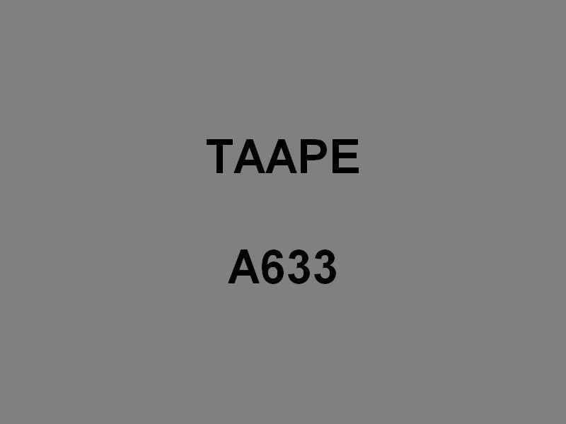 TAAPE  A633 ,  Batiment de Soutien de Région ,BSR