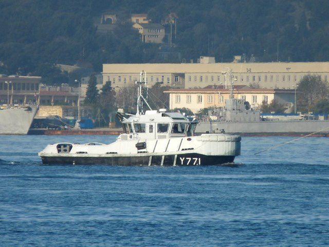 OTARIE  Y771 , Remorqueur Pousseur de 10 t  , RP10