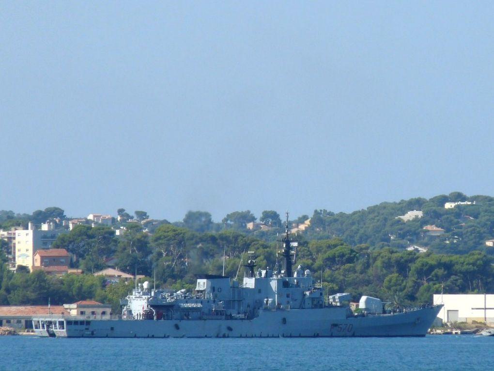 MAESTRALE  F570 , Frégate de la marine italienne