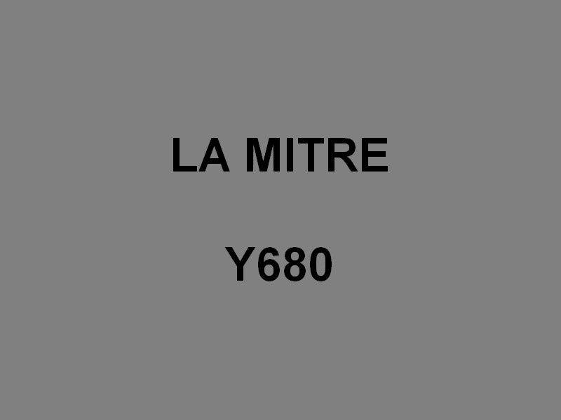 LA  MITRE  Y680 , Pilotine du port