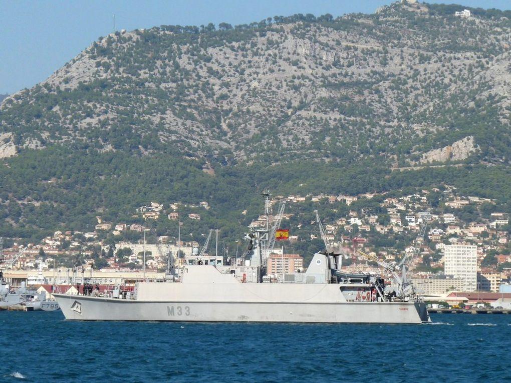 TAMBRE  M33 , Dragueur de mines de la marine espagnole