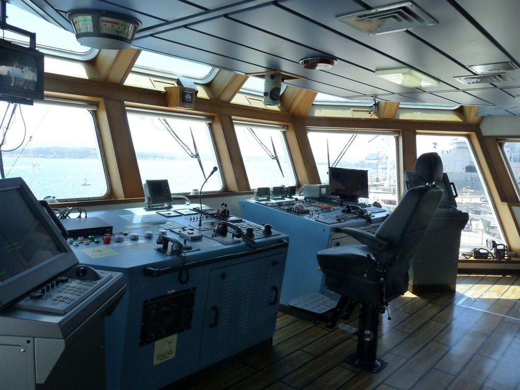 JASON  ,Batiment de Soutien ,d'Assistance  et de Dépollution , BSAD, affrété par la Marine nationale depuis juillet 2009