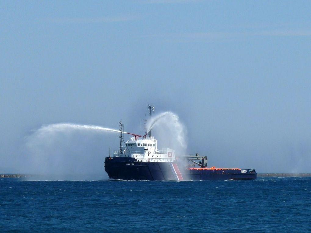 AILETTE ,Batiment de Soutien ,d'Assistance  et de Dépollution , BSAD, affrété par la Marine nationale depuis 1988