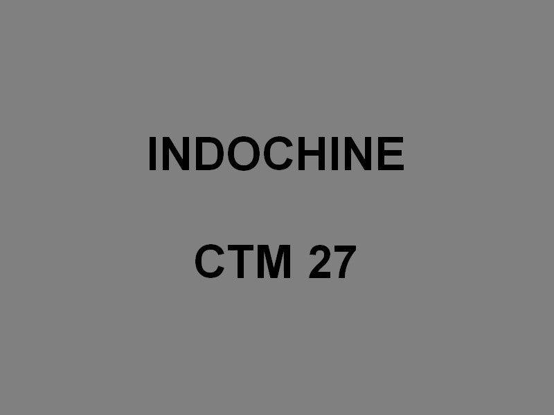 INDOCHINE  CTM 27 , Chaland de Transport de  Marériel