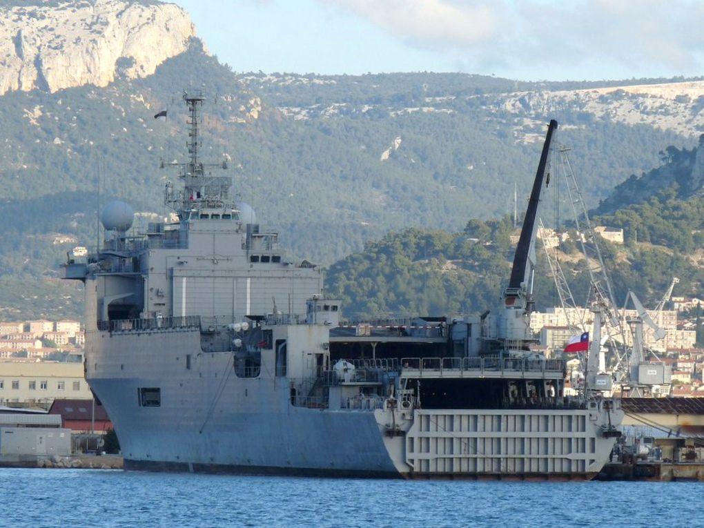 SERGENTA ALDEA 91 , Transport de Chalands de Débarquement  de la marine du Chili , TCD  ,&#x3B;Ex  TCD FOUDRE L9011