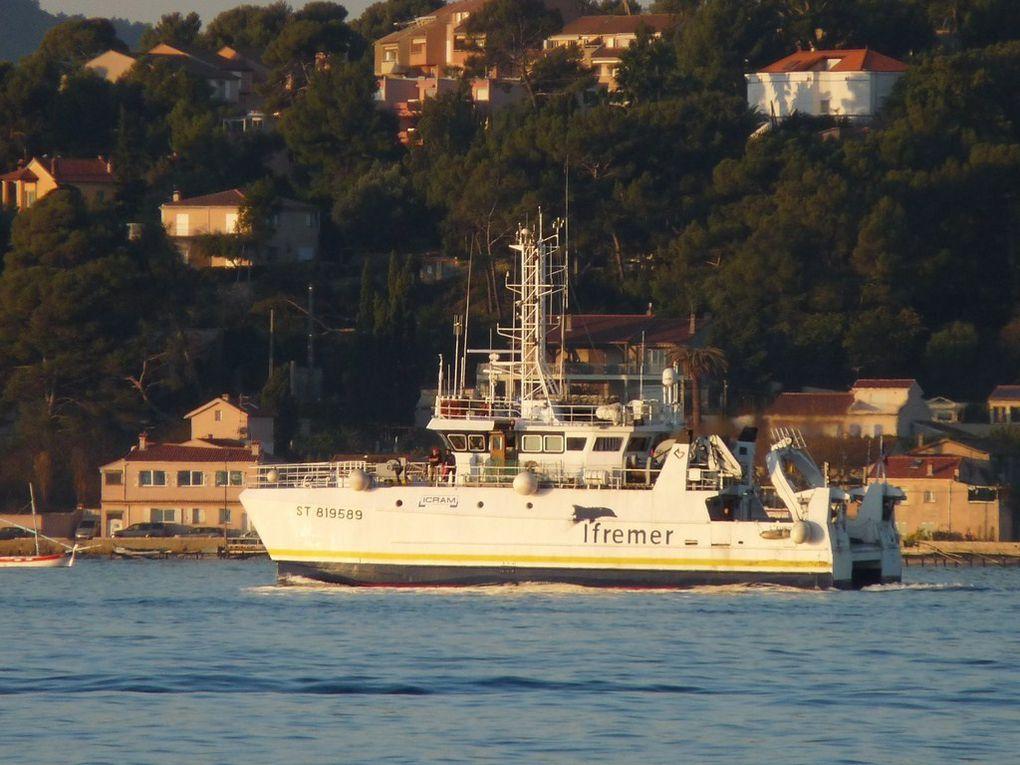 L'EUROPE , Navire de recherche océanographique de l'Ifremer