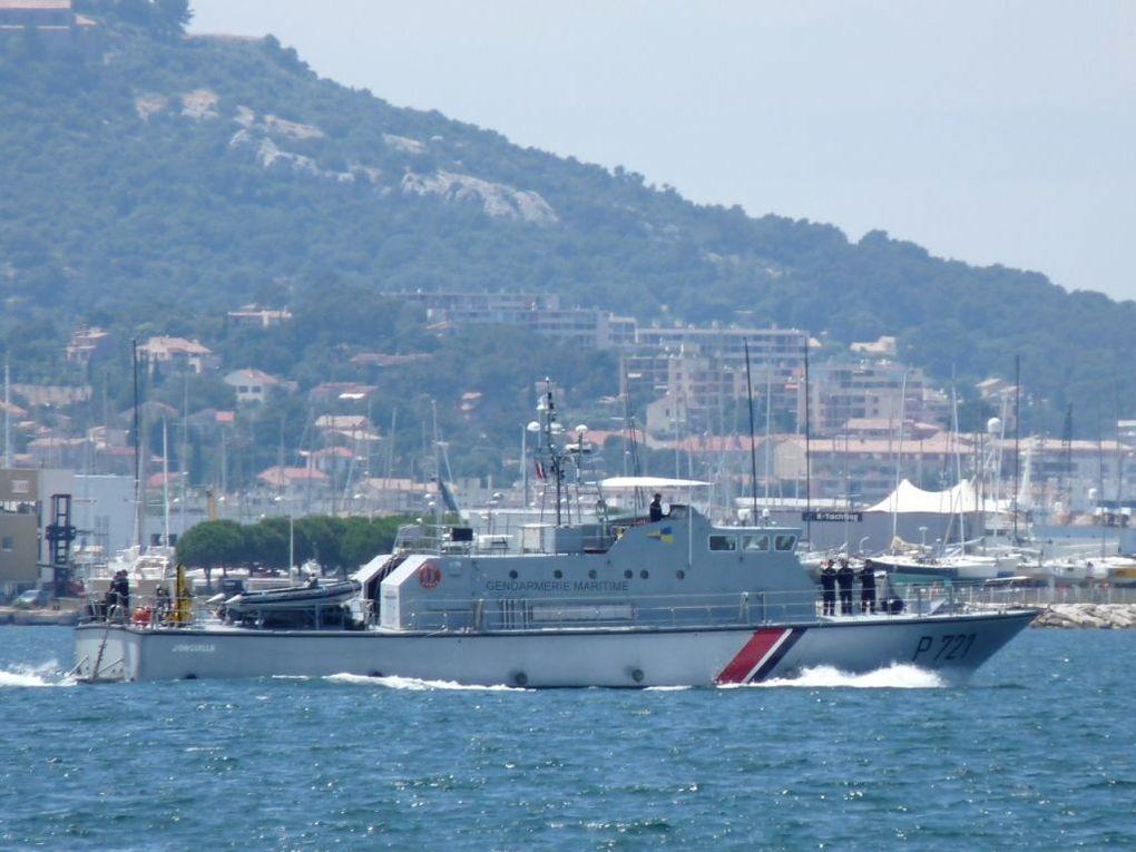 JONQUILLE  P721 , Patrouilleur Cotier de la Gendarmerie maritime ,( PCG)