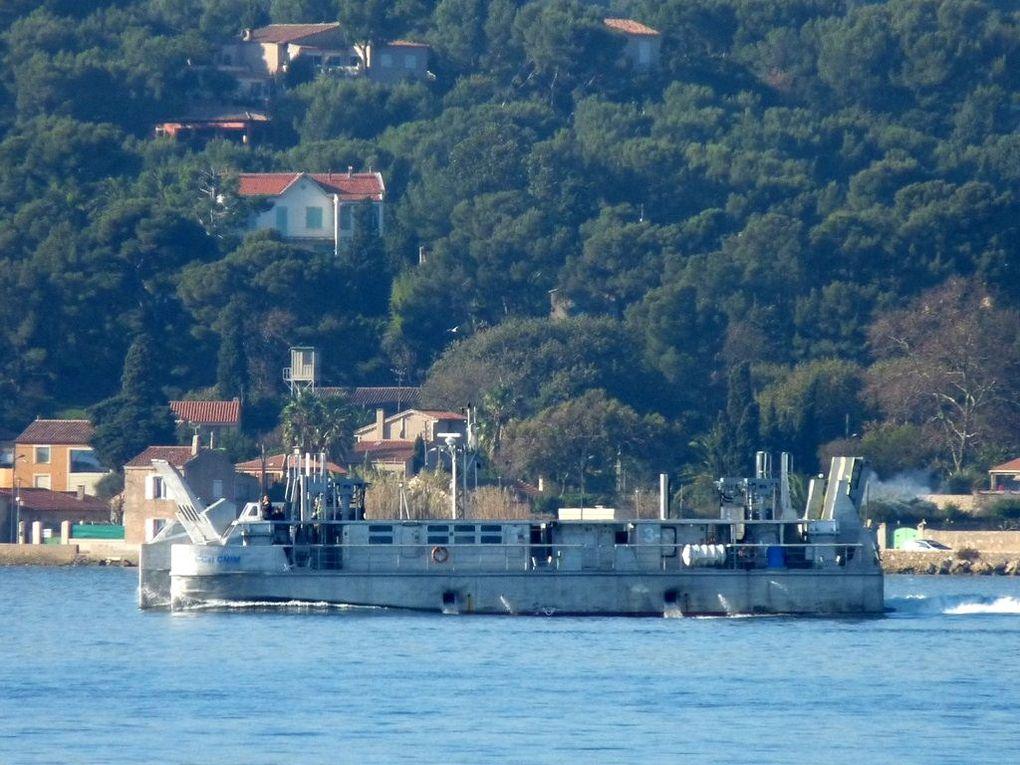 """L.CAT, prototype  des  """"EDA-R"""" contruit pour essais par la CNIM à la Seyne sur Mer"""