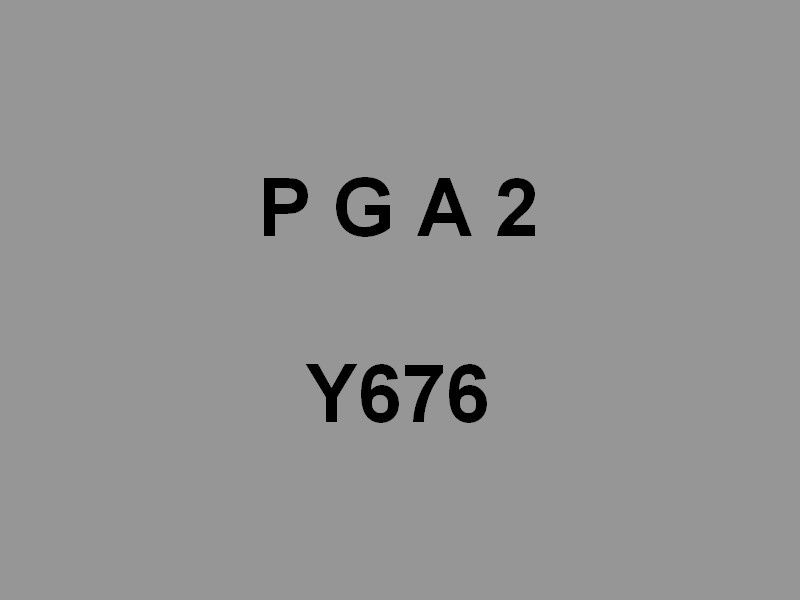PGA 2  Y676 , ponton grue automoteur