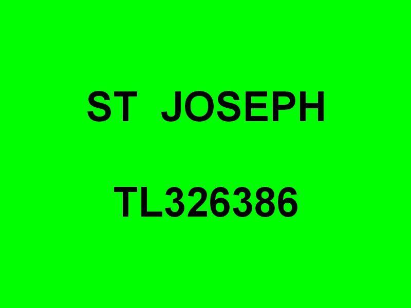 ST JOSEPH  TL326386
