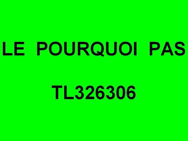 LE POURQUOI PAS  TL326306 , en rade de Hyères