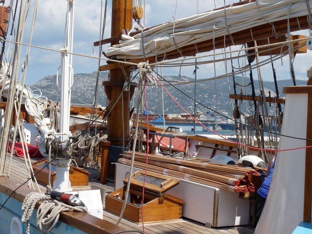 FLEUR DE PASSION , dans le port de la Seyne sur Mer