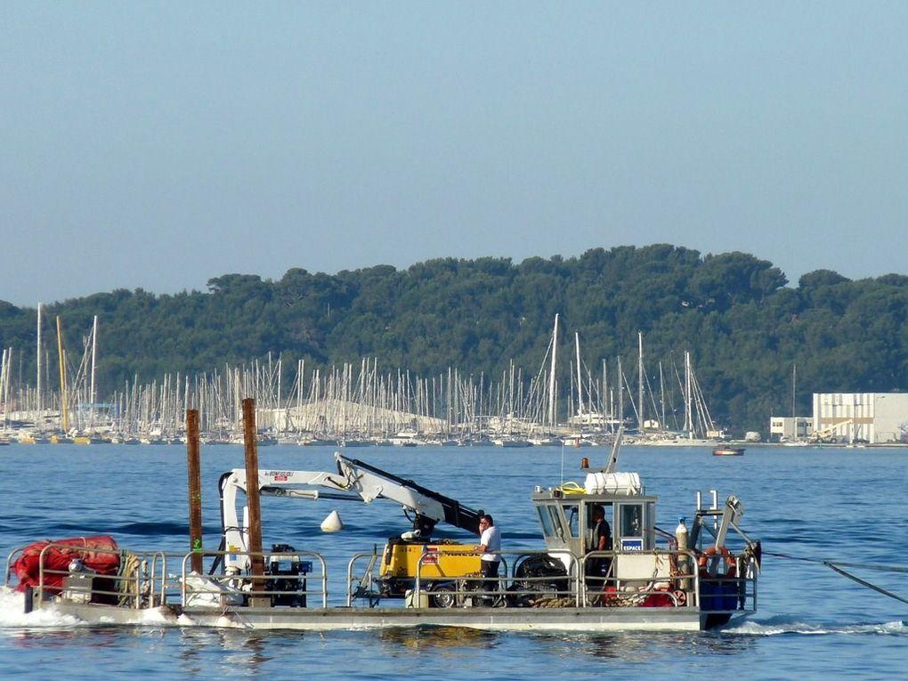 GUILLAUME I , barge d'essais de L'Ifremer