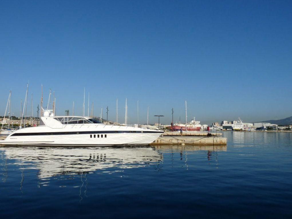 TEMPTATION , dans le port de la seyne sur Mer