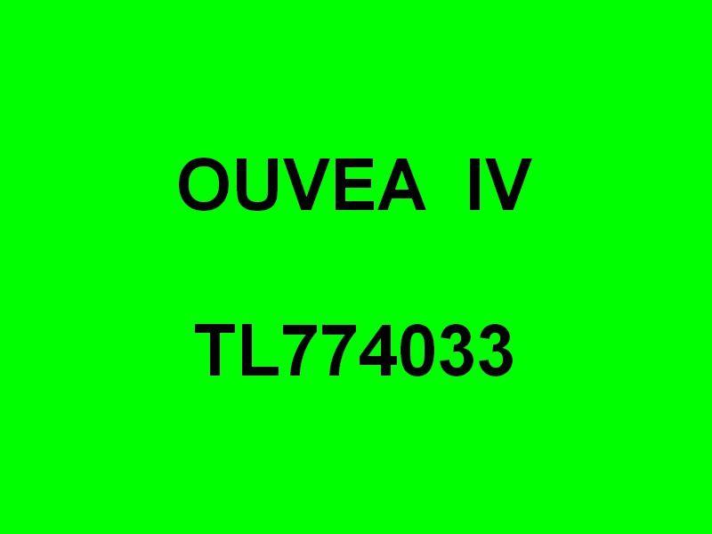 OUVEA IV  TL774033