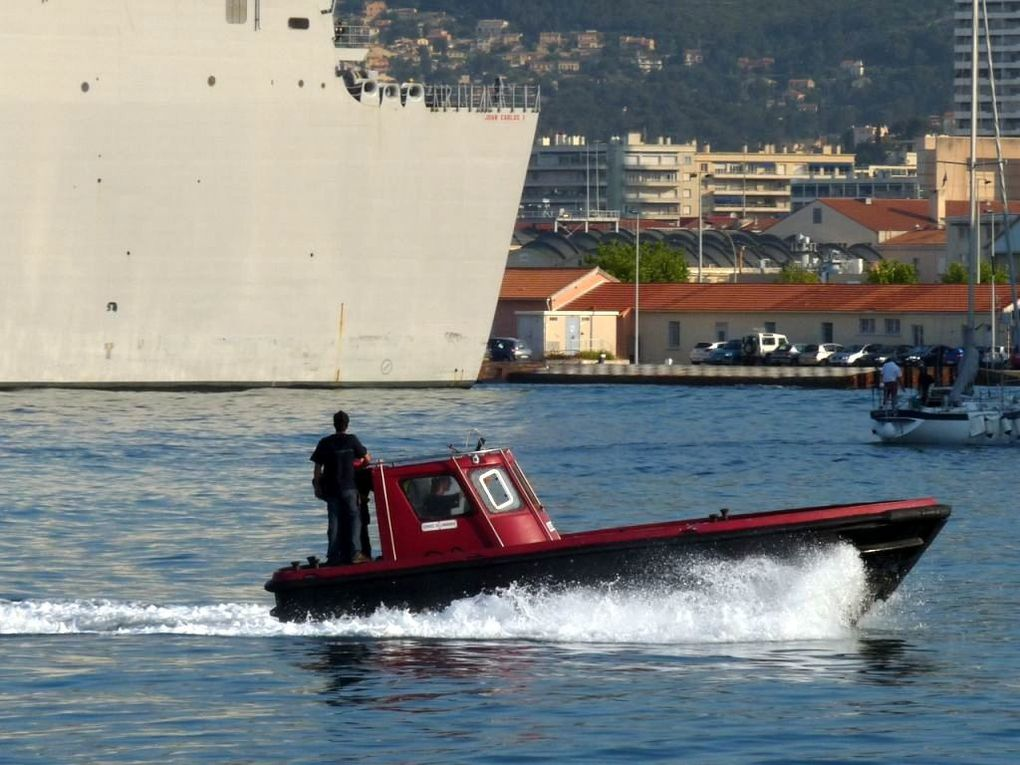 CDT GUIDINI , vedette du service de lamanage du port de Toulon