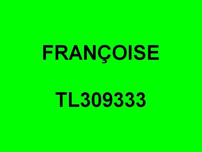 FRANÇOISE TL309333 , dans le port de Sanary