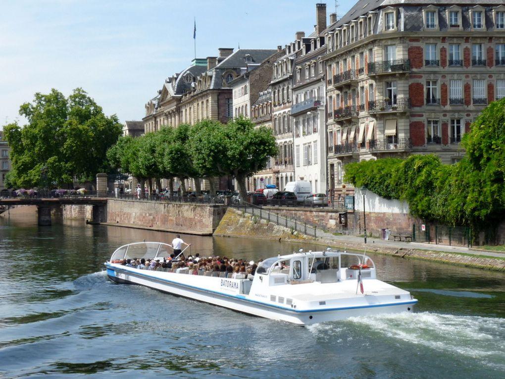 EUROPE ,  pour la visite de Strasbourg