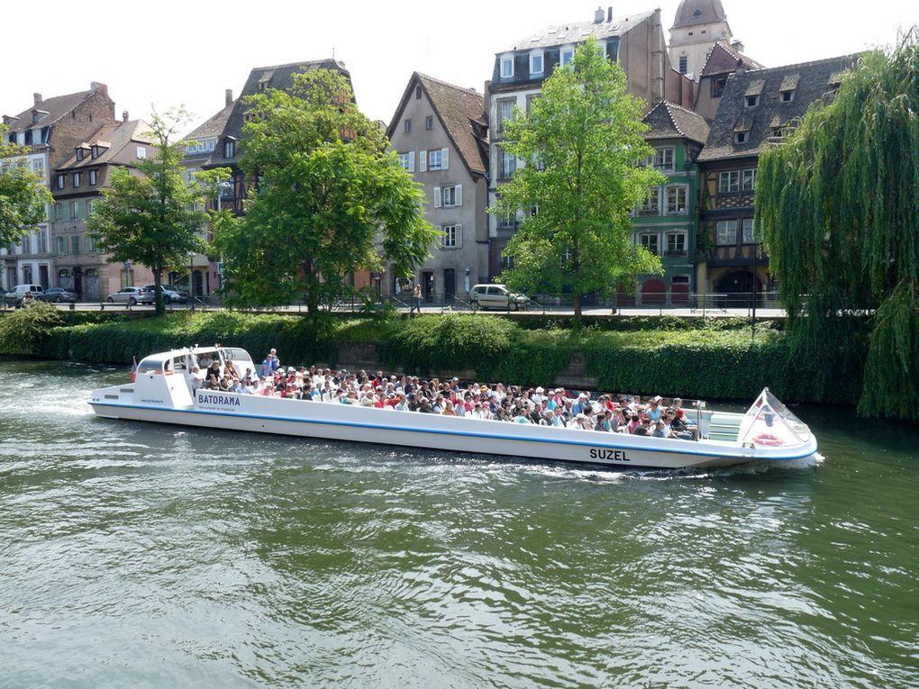SUZEL ,  pour la visite de Strasbourg