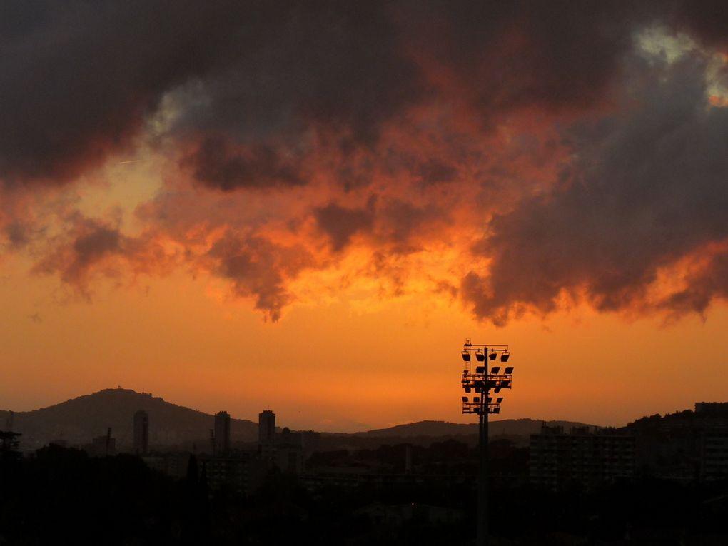 Coucher du soleil du 13 octobre