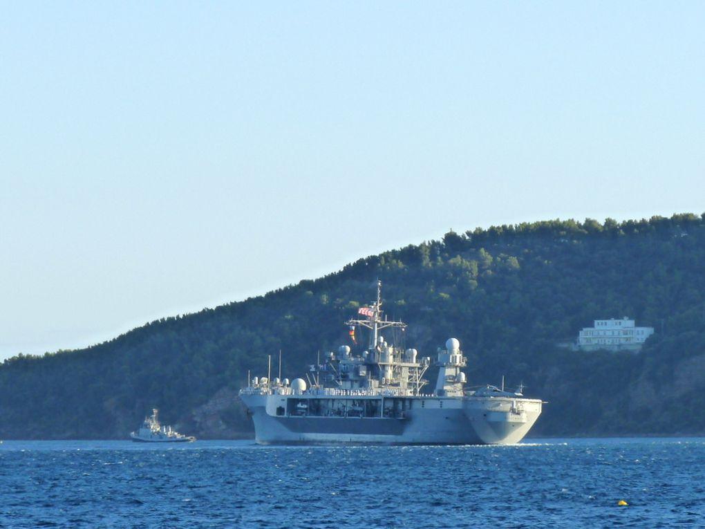 USS MOUNT WHITNEY 20 , navire amphibie de commandement de la marine américaine