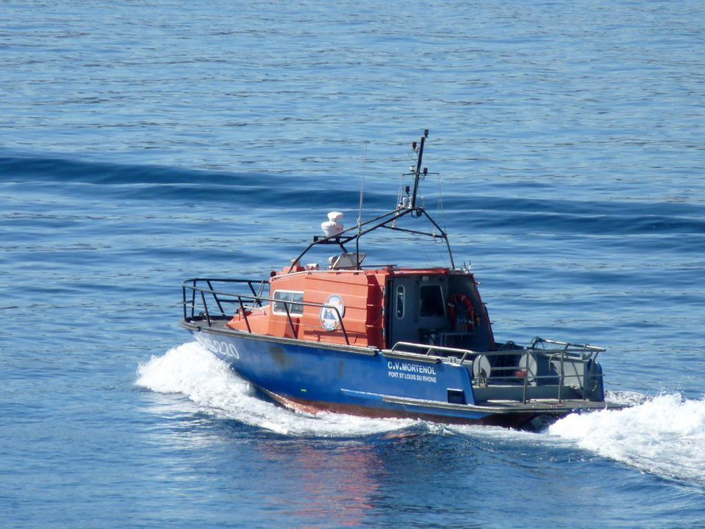 CV MORTEROL  SNS220 , vedette de Port Saint Louis du Rhone