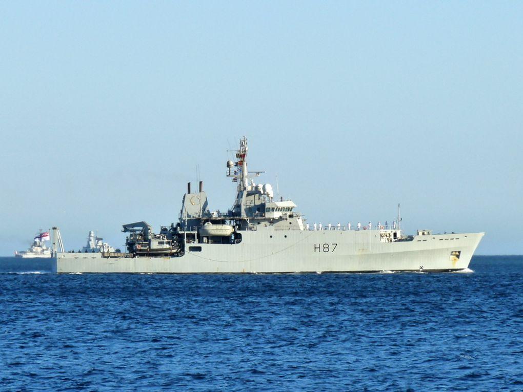 ECHO  H87 , navire océanographique de la royal navy