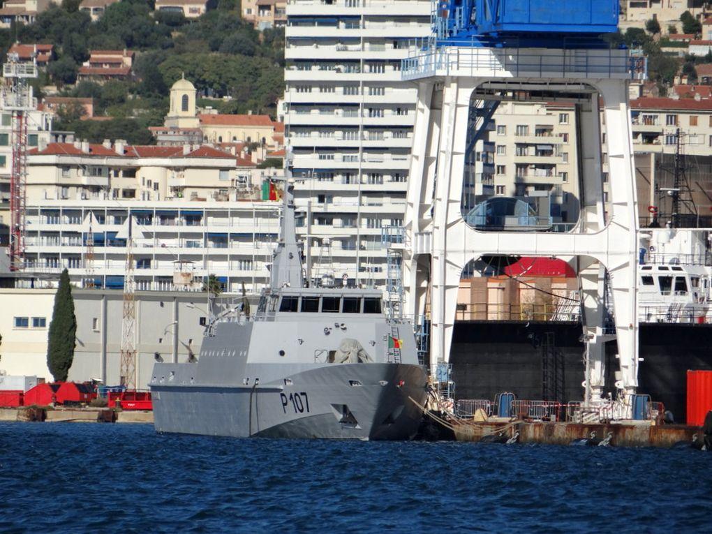 DIPIKAR  P107 , patrouilleur de la marine camerounaise ( ex patrouiller Français GREBE)