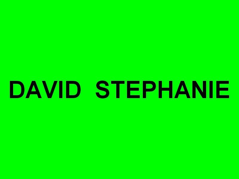 DAVID STEPHANIE