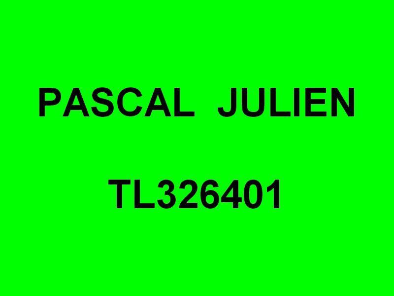 PASCAL  JULIEN  TL326401