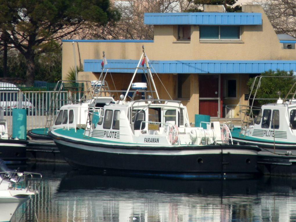 FARAMAN , pilotine du port de Fos / Lavera