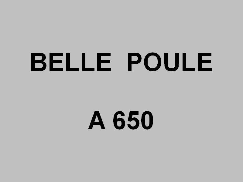 BELLE POULE  A650 ( en 1970)