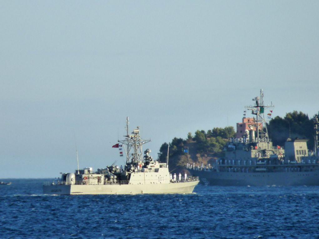 LA GALITE  501  , patrouilleur de la marine egyptienne