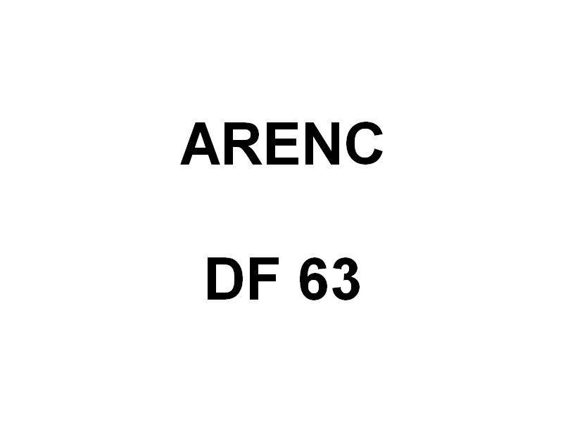ARENC  DF 63 , vedette des douanes en rade de Toulon