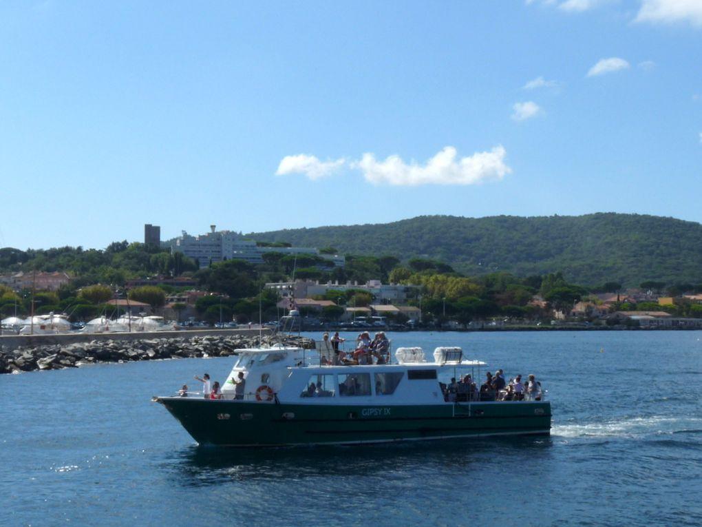 GIPSY  IX, vedettes passagers à Saint TROPEZ