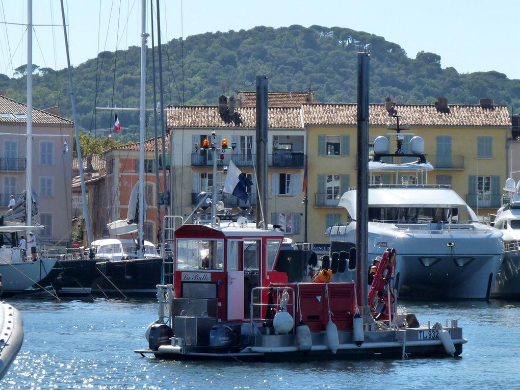 LA BULLE , dans le port de Saint Tropez