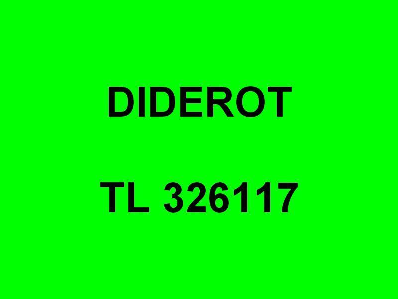DIDEROT  TL 326117