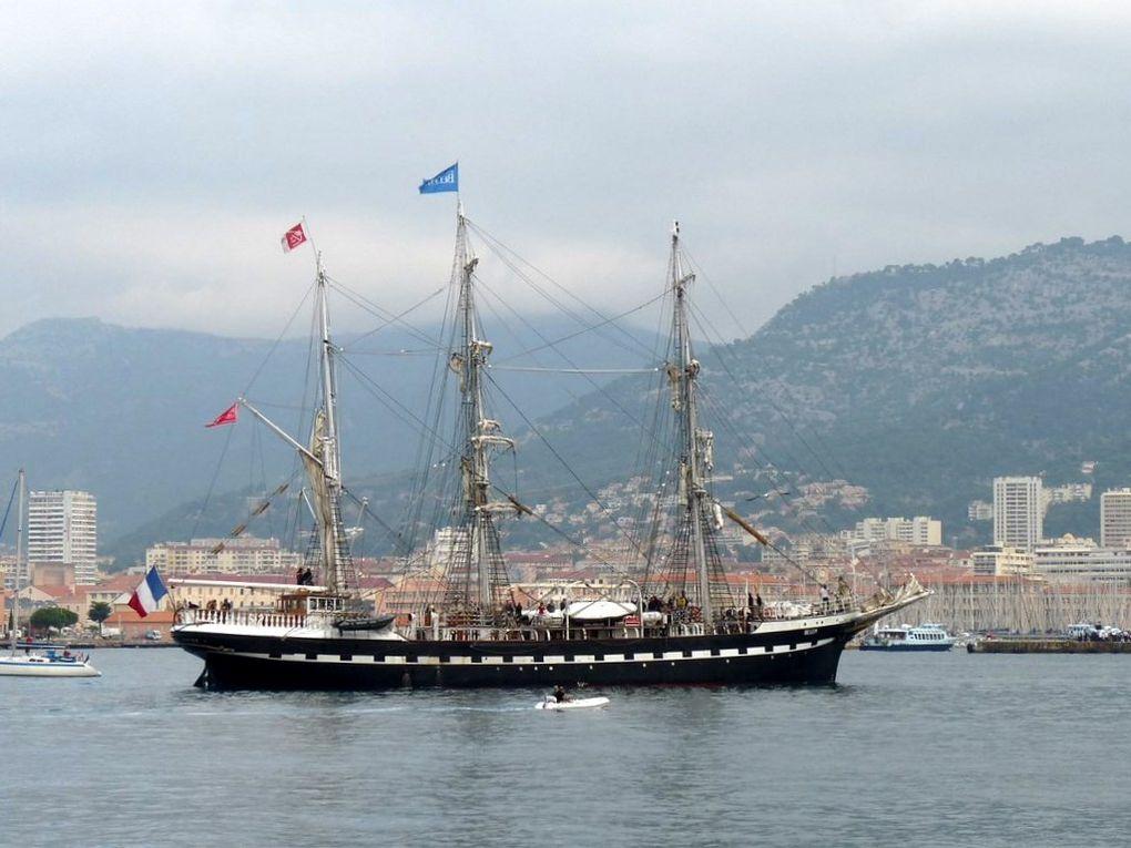 BELEM , arrivée à Toulon le 29 septembre 2013