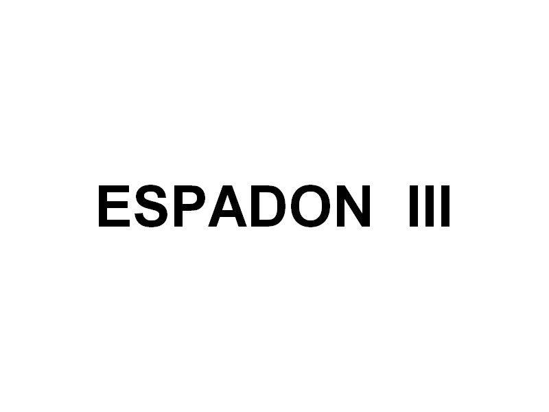ESPADON  III