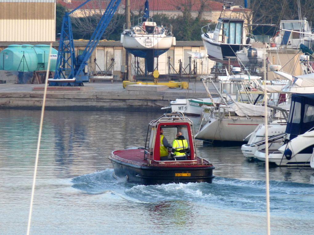 CB 20 , vedette du lamanage de Port de Bouc / Fos sur Mer
