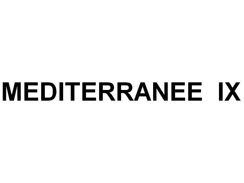 MEDITERRANEE  IX