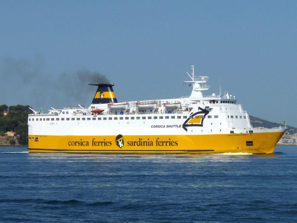 CORSICA  MARINA  SECONDA , arrivée à Toulon le 21 juillet 2016