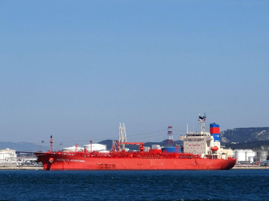 MEDALTA  ADVENTURER , à quai dans le port de Lavera le 21 mai 2016